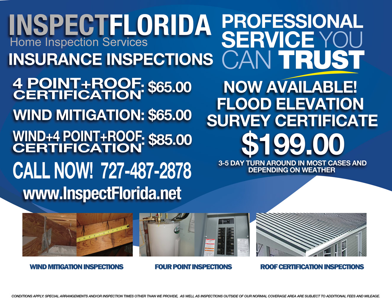 Inspect Florida Home Inspection Pinellas Tampa Rate Sheet